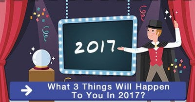 What 3 things will happen to you in 2017?