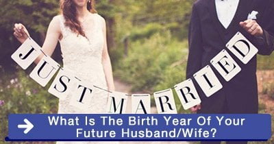 What is the birth year of your future husband/wife?